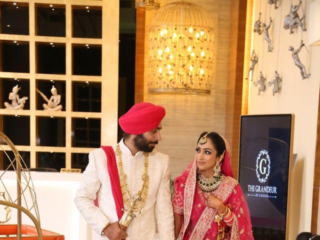 The wedding of Harneet and Gagandeep