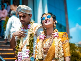 The wedding of Rakshita and Rakesh