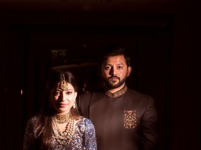 The wedding of Vipul and Vibhuti