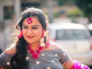 The wedding of Anurag and Zeva 3
