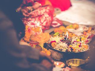 The wedding of Vishakha and Aman 1