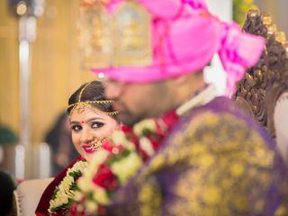 The wedding of Vishakha and Aman 2
