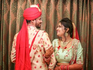 The wedding of Jyoti and Pranav