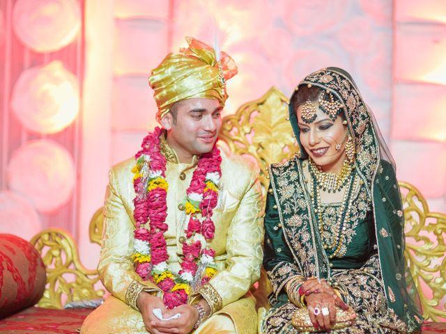 The wedding of Arsala and Zeeshan