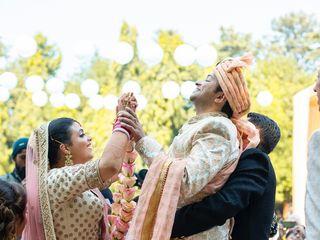 The wedding of Joyse and Nikhil