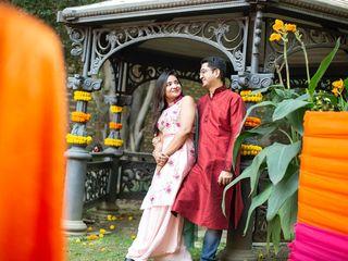 The wedding of Joyse and Nikhil 1