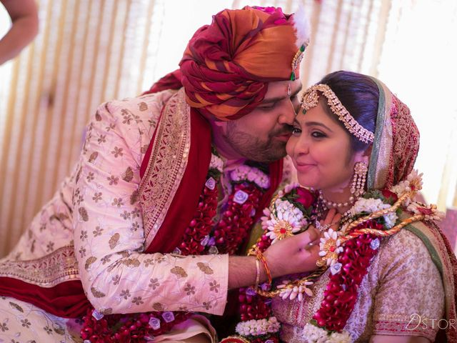 The wedding of Pooja and Khameer