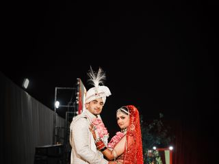 The wedding of Ronik and Shivali