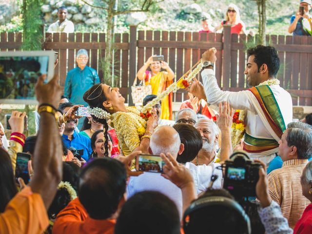 The wedding of Priyanka and Prasann