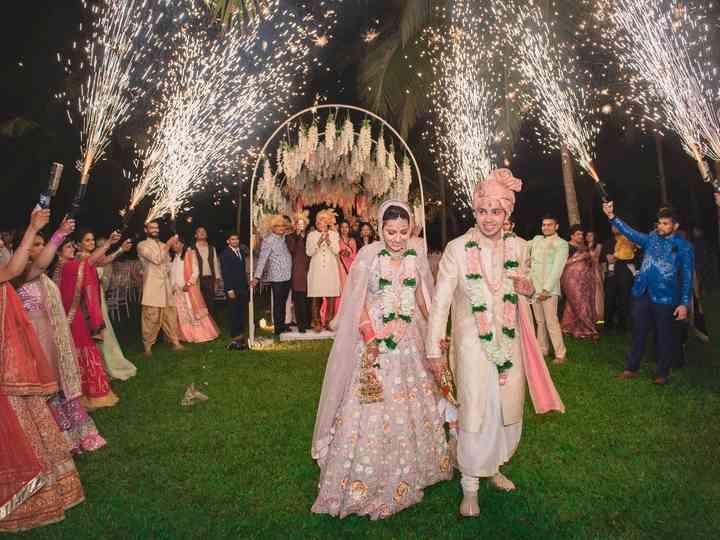 The wedding of Priyanka and Arihant