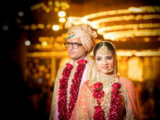 The wedding of Sagun and Saurabh