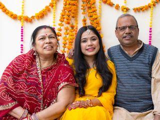 The wedding of Radhika and Devesh 1