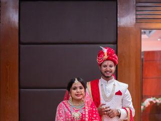 The wedding of Radhika and Devesh