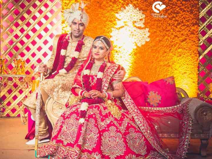 The wedding of Neha and Rishabh