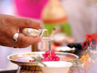 The wedding of Dharmi and Kishen 3