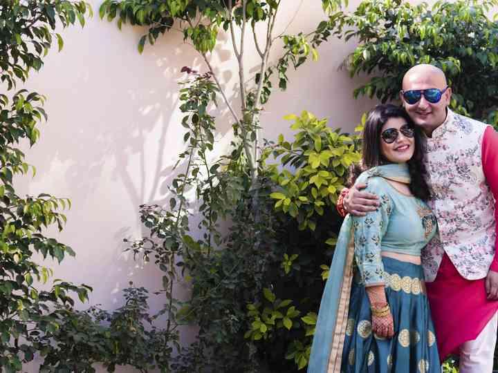 The wedding of Akanksha and Kratant