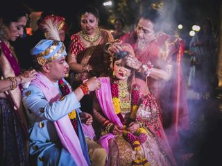 The wedding of Akanksha and Kratant 2
