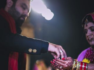 The wedding of Akanksha and Kratant 3