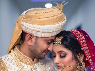 The wedding of Shreya and Rahul