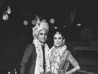 The wedding of Kriti and Siddharth