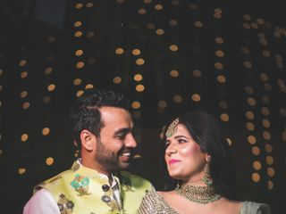 The wedding of Jyoti and Sunny