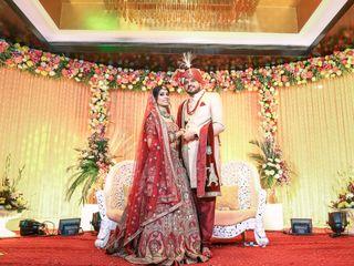 The wedding of Manali and Kanishka