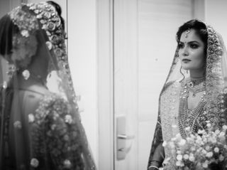 The wedding of Pallavi and Pustav 1