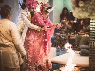 The wedding of Pallavi and Pustav 2
