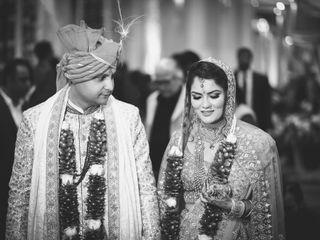 The wedding of Pallavi and Pustav