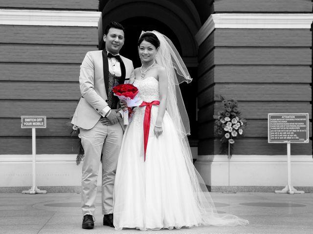 The wedding of Aaliyen Sylvia and Sebastian