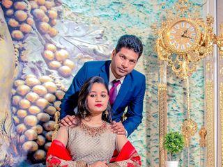 The wedding of Madhuri and Animesh