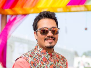 The wedding of Grishma Anand and Suheil Behl 2