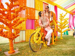 The wedding of Grishma Anand and Suheil Behl 3