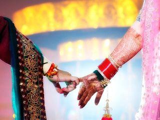 The wedding of Shruti and Shivam 2