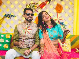 The wedding of Ritika and Yash