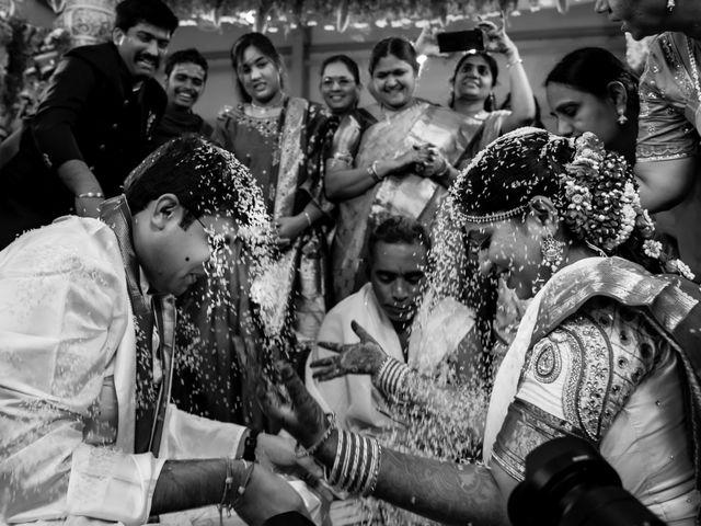 Aditya and Prathyusha's wedding in Hyderabad, Telangana 1