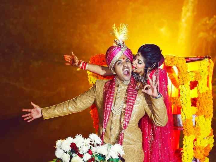 The wedding of Neelakshi and Vishi