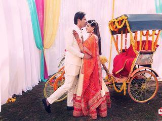 The wedding of Tamanna and Jai