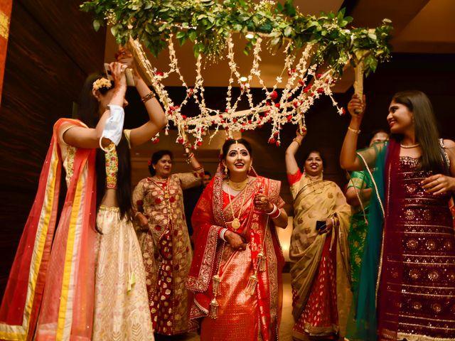 The wedding of Sonal and Mithun