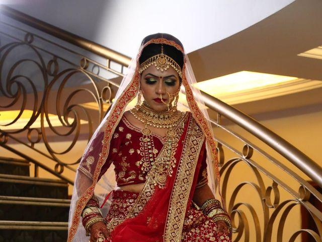 The wedding of VInod and Swati