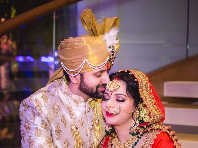 The wedding of Shweta and Hiten
