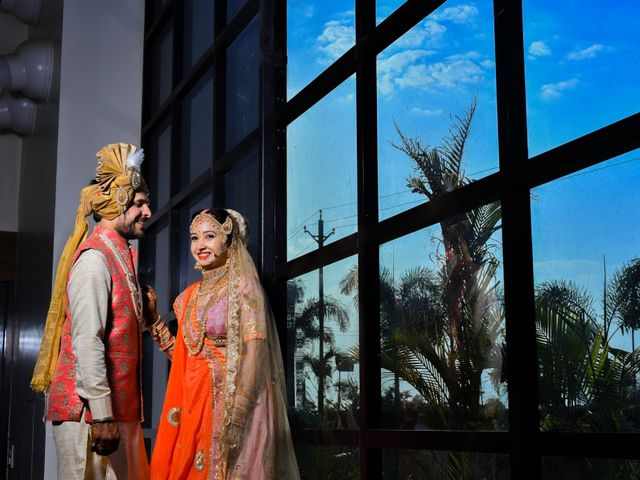 The wedding of Tripti and Sulabh