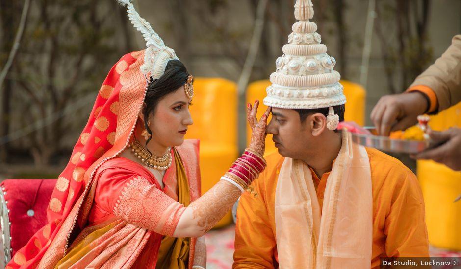 The wedding of Ana and Saurav