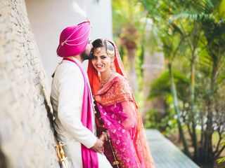 The wedding of Harpreeti and Harkamal