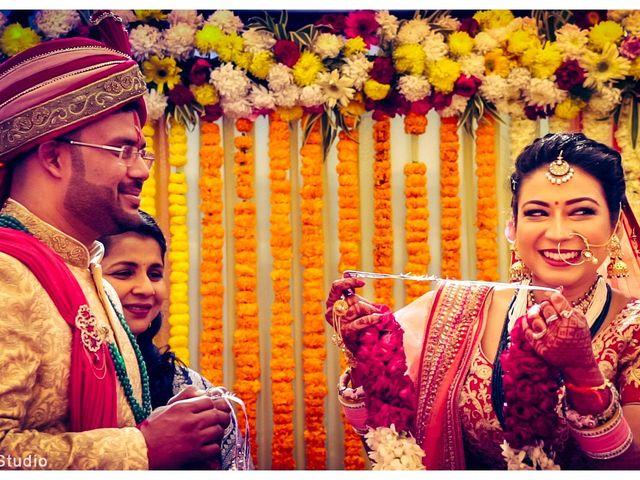 The wedding of Varda and Siddharth