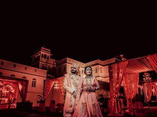 The wedding of Aastha and Kunal