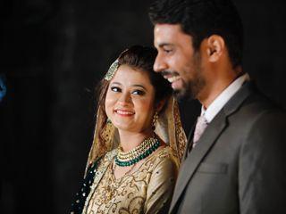 The wedding of Najib and Tanjeela