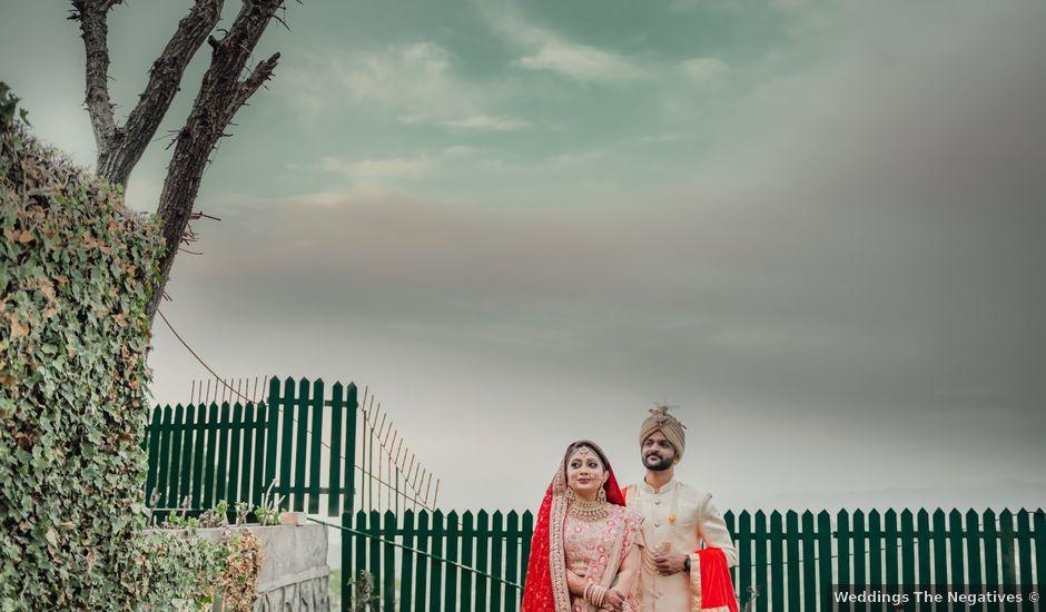 The wedding of Heena and Naveen