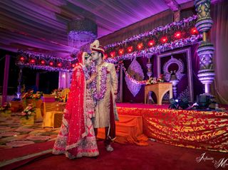 The wedding of Rupali and Ashish