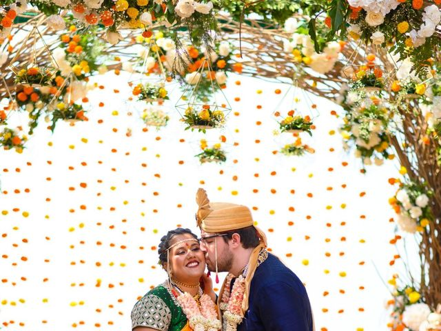 The wedding of Mitali and Chris